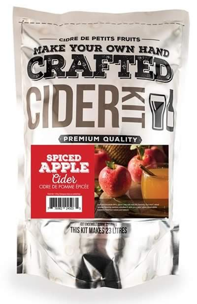 CRAFTED SPICED APPLE CIDER