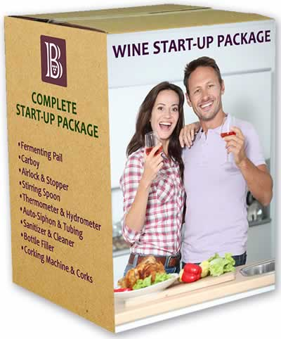 Complete Start-up Package for Wine